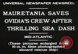Image of Mauretania Atlantic Ocean, 1930, second 2 stock footage video 65675023905