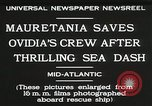 Image of Mauretania Atlantic Ocean, 1930, second 7 stock footage video 65675023905