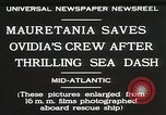 Image of Mauretania Atlantic Ocean, 1930, second 9 stock footage video 65675023905