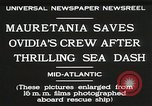 Image of Mauretania Atlantic Ocean, 1930, second 12 stock footage video 65675023905