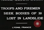 Image of rescue operations Lyon France, 1930, second 1 stock footage video 65675023907