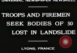 Image of rescue operations Lyon France, 1930, second 2 stock footage video 65675023907
