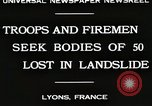 Image of rescue operations Lyon France, 1930, second 4 stock footage video 65675023907