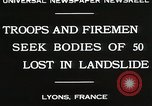 Image of rescue operations Lyon France, 1930, second 5 stock footage video 65675023907