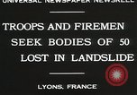 Image of rescue operations Lyon France, 1930, second 6 stock footage video 65675023907
