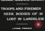 Image of rescue operations Lyon France, 1930, second 8 stock footage video 65675023907