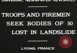 Image of rescue operations Lyon France, 1930, second 9 stock footage video 65675023907