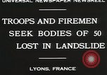 Image of rescue operations Lyon France, 1930, second 10 stock footage video 65675023907