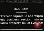 Image of Wreckage of houses Ola Arkansas USA, 1930, second 1 stock footage video 65675023908