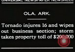 Image of Wreckage of houses Ola Arkansas USA, 1930, second 2 stock footage video 65675023908