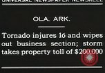 Image of Wreckage of houses Ola Arkansas USA, 1930, second 3 stock footage video 65675023908