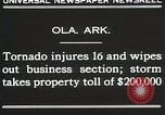Image of Wreckage of houses Ola Arkansas USA, 1930, second 5 stock footage video 65675023908