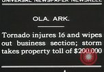 Image of Wreckage of houses Ola Arkansas USA, 1930, second 6 stock footage video 65675023908