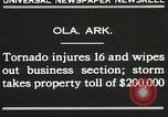 Image of Wreckage of houses Ola Arkansas USA, 1930, second 7 stock footage video 65675023908