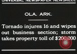 Image of Wreckage of houses Ola Arkansas USA, 1930, second 11 stock footage video 65675023908