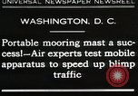 Image of Mooring mast Washington DC USA, 1930, second 1 stock footage video 65675023910