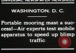 Image of Mooring mast Washington DC USA, 1930, second 3 stock footage video 65675023910