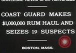 Image of Coastal guards Boston Massachusetts USA, 1930, second 3 stock footage video 65675023912