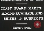 Image of Coastal guards Boston Massachusetts USA, 1930, second 4 stock footage video 65675023912