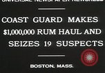 Image of Coastal guards Boston Massachusetts USA, 1930, second 7 stock footage video 65675023912