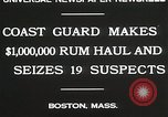 Image of Coastal guards Boston Massachusetts USA, 1930, second 8 stock footage video 65675023912