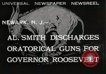 Image of Al Smith Newark New Jersey USA, 1932, second 1 stock footage video 65675023917
