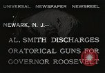 Image of Al Smith Newark New Jersey USA, 1932, second 3 stock footage video 65675023917