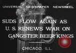 Image of Prohibition brewery destroyed Chicago Illinois USA, 1932, second 1 stock footage video 65675023921