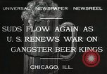 Image of Prohibition brewery destroyed Chicago Illinois USA, 1932, second 2 stock footage video 65675023921