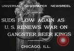 Image of Prohibition brewery destroyed Chicago Illinois USA, 1932, second 3 stock footage video 65675023921