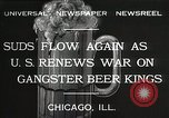 Image of Prohibition brewery destroyed Chicago Illinois USA, 1932, second 4 stock footage video 65675023921