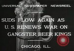 Image of Prohibition brewery destroyed Chicago Illinois USA, 1932, second 5 stock footage video 65675023921