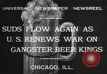 Image of Prohibition brewery destroyed Chicago Illinois USA, 1932, second 6 stock footage video 65675023921