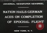 Image of Captain W V Gronau New York United States USA, 1930, second 1 stock footage video 65675023924