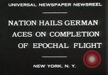 Image of Captain W V Gronau New York United States USA, 1930, second 2 stock footage video 65675023924