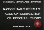 Image of Captain W V Gronau New York United States USA, 1930, second 3 stock footage video 65675023924