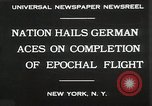 Image of Captain W V Gronau New York United States USA, 1930, second 7 stock footage video 65675023924