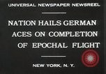 Image of Captain W V Gronau New York United States USA, 1930, second 8 stock footage video 65675023924