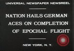 Image of Captain W V Gronau New York United States USA, 1930, second 9 stock footage video 65675023924