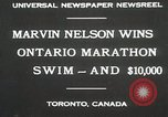 Image of Ontario Marathon Swim Toronto Ontario Canada, 1930, second 3 stock footage video 65675023926