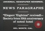 Image of 50th Anniversary Del Monte California USA, 1930, second 3 stock footage video 65675023927