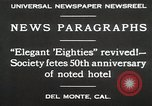 Image of 50th Anniversary Del Monte California USA, 1930, second 5 stock footage video 65675023927