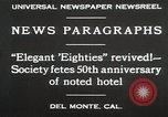 Image of 50th Anniversary Del Monte California USA, 1930, second 9 stock footage video 65675023927