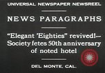 Image of 50th Anniversary Del Monte California USA, 1930, second 10 stock footage video 65675023927