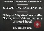Image of 50th Anniversary Del Monte California USA, 1930, second 12 stock footage video 65675023927