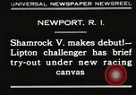Image of Shamrock V Newport Rhode Island USA, 1930, second 1 stock footage video 65675023928