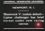 Image of Shamrock V Newport Rhode Island USA, 1930, second 2 stock footage video 65675023928