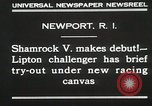 Image of Shamrock V Newport Rhode Island USA, 1930, second 3 stock footage video 65675023928