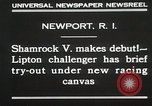 Image of Shamrock V Newport Rhode Island USA, 1930, second 5 stock footage video 65675023928