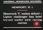 Image of Shamrock V Newport Rhode Island USA, 1930, second 6 stock footage video 65675023928